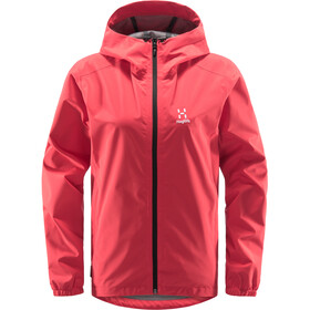 Haglöfs Buteo Jacket Women hibiscus red